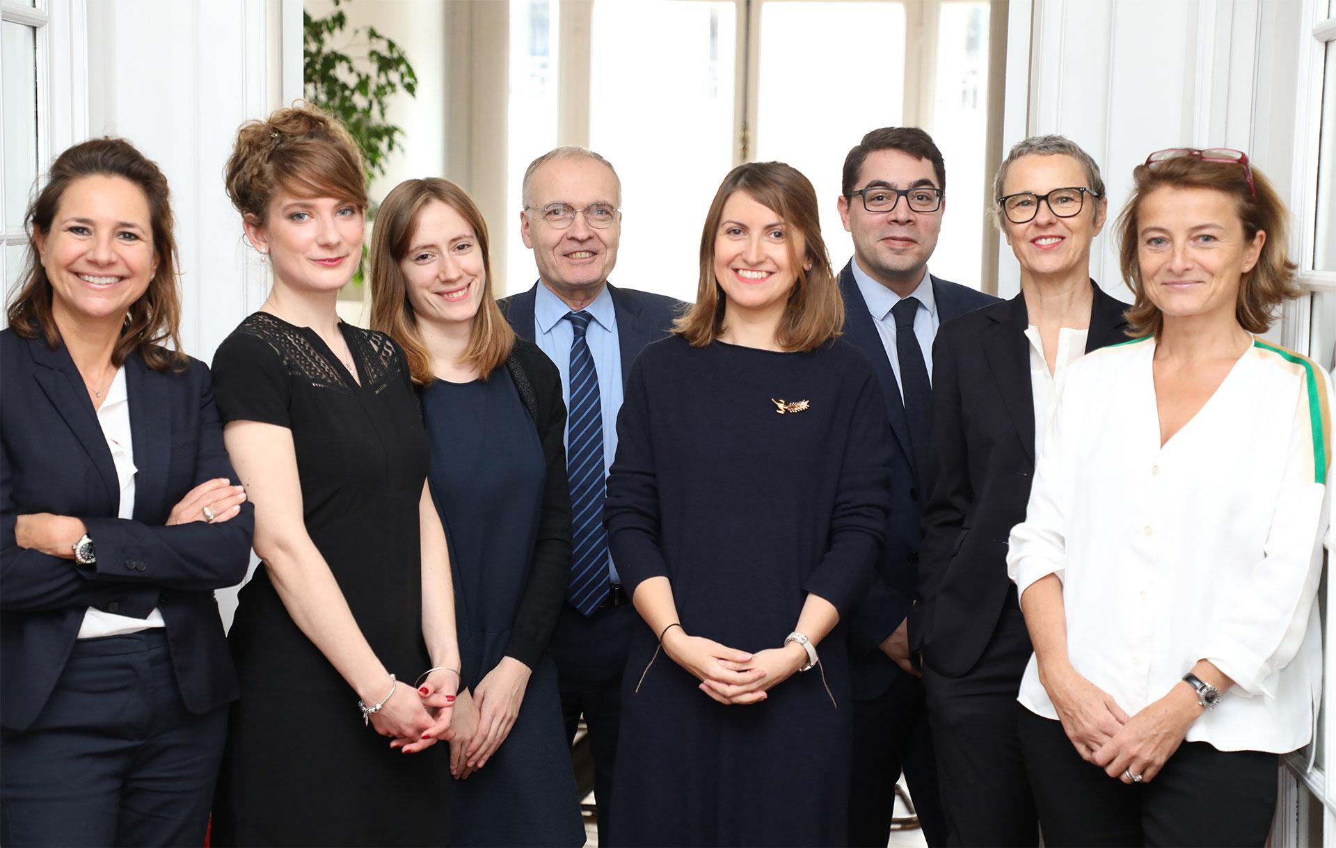 L'équipe du Cabinet Monceau Avocats